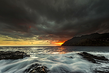 San Lorenzo peninsula at sunrise, San Laurenzo, Madeira, Portugal, Europe