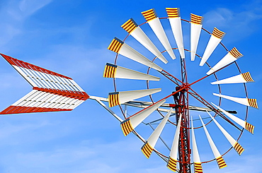 Windmill, Palma de Mallorca, Mallorca, Balearic Islands, Spain, Europe