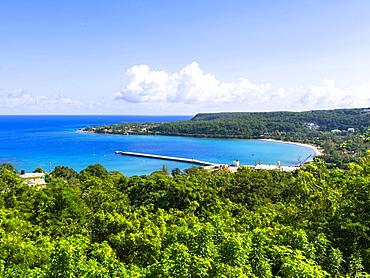 Coastline, Port Rhoades, Discovery Bay, Jamaica, Central America