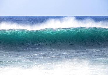 Ocean wave, Atlantic, Valle Gran Rey, La Gomera, Canary Islands, Spain, Europe