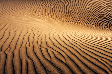 Dunes of Maspalomas, Dunas de Maspalomas, structures in the sand, nature reserve, Gran Canaria, Canary Islands, Spain, Europe