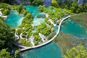 National park Plitvicer lakes, Lika-Senj, Croatia, Europe