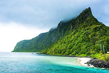 Coastline, Ofu Island, Manu?a Group, Samoan Islands, American Samoa, Oceania