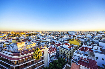 View of the city of Seville, Province of Seville, Andalucía, Spain, Europe