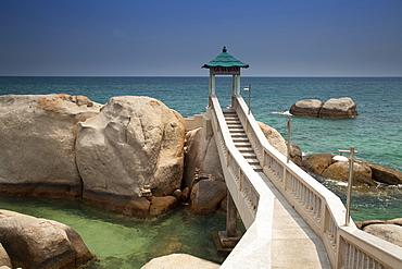 Coastal landscape near Cana, Ninh Thuan, Vietnam, Asia