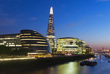 The Shard skyscraper, Thames, London, England, United Kingdom, Europe