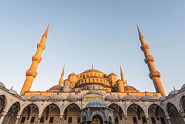 Blue Mosque, Sultan Ahmet Camii, Sultanahmet, European Side, Istanbul