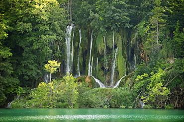 Waterfalls of the Plitvice Lakes, Plitvice, Croatia, Europe