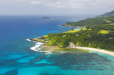 Coastline, Lord Howe Island, New South Wales, Australia, Oceania