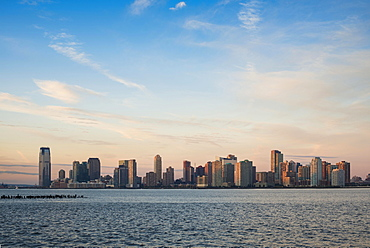 Skyline, morning light, New Jersey, New York, United States, North America