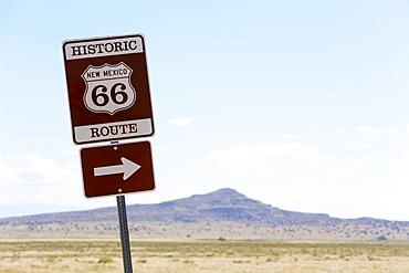 Diversion to Historic Route 66, Los Lunas to Albuquerque, New Mexico, United States, North America
