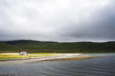 Bothy at Camasunary, Isle of Skye, Scotland, United Kingdom, Europe