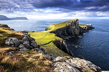 Neist Point, Ross, Skye and Lochaber, Isle of Skye, Scotland, United Kingdom, Europe