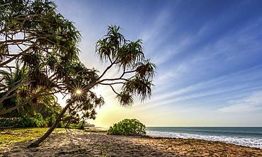 Sunrise at Kahandamodara beach, Sri Lanka, Asia