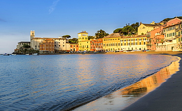 Baia del Silenzio, Bay of Silence, Sestri Levante, Liguria, Italy, Europe