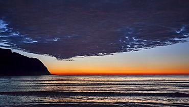 Coast near Refvik, Vagsoy island, Sogn og Fjordane, Norway, Europe