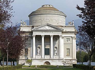 Volta Museum, Tempio Voltiano, Como, Lombardy, Italy, Europe