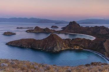 Sunrise on Padar Island, Island World, Komodo National Park, Nusa Tenggara Timur, Indonesia, Asia