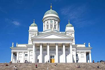 Helsinki Cathedral, Senate Square, Kruununhaka, Helsinki, Finland, Europe