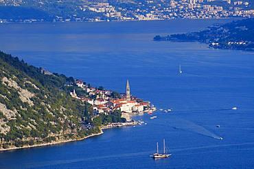 Perast, Bay of Kotor, Province of Kotor, Montenegro, Europe