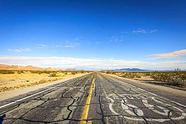 Historic Route 66, Ludlow, California, USA, North America