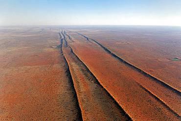 Dune landscape of the Kalahari, Hardap, Namibia, Africa