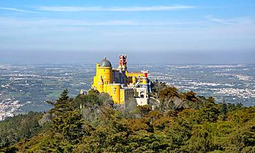 National Palace Pena, Cultural Landscape Sintra, Sintra, Portugal, Europe