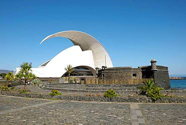 Concert Hall Auditorio de Tenerife, Santa Cruz de Tenerife, Tenerife, Canary Islands, Spain, Europe