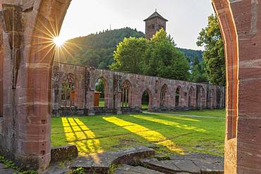 Hirsau Abbey, Black Forest, Baden-Wuettemberg, Germany, Europe