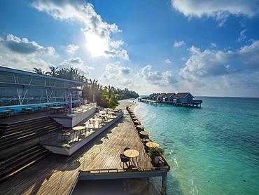 Resort, Hotel Island Kuramathi, Rsadoo Atoll, Maldives, Asia