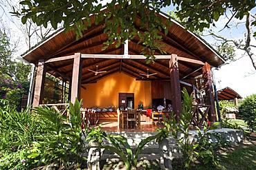 Rinconcito Lodge at Rincon de la Vieja National Park, near Liberia, Guanacaste Province, Costa Rica, Central America