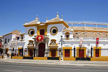 Bullring, La Real Maestranza, Seville, Andalusia, Spain, Europe