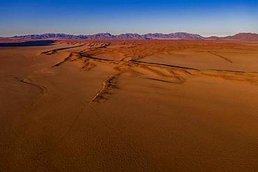 View from Wolwedans Dunes Lodge, NamibRand Nature Reserve, Namib Desert, Namibia, Africa