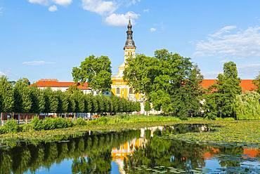 St. Mary's Assumption Monastery, Neuzelle Monastery, Lower Lusatia, Brandenburg, Germany, Europe