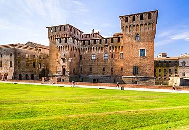 The Castello San Giorgio of Palazzo Ducale, Mantua, Lombardy, Italy, Europe