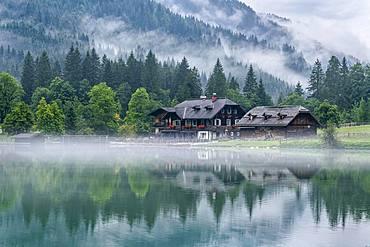 Lake Jaegersee, Kleinarler Valley, Radstaedter Tauern, province of Salzburg, Austria, Europe