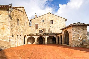 Santuario di San Damiano, Assisi, Memorial of St. Francis and St. Clare, Assisi, Province of Perugia, Umbria, Italy, Europe