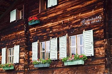 Trockenbachalm, Kelchsau, Kitzbuehel Alps, Tyrol, Austria, Europe