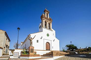Church Iglesia Nuestra Senora De Las Flores, Sanlucar, Andalusia, Spain, Europe