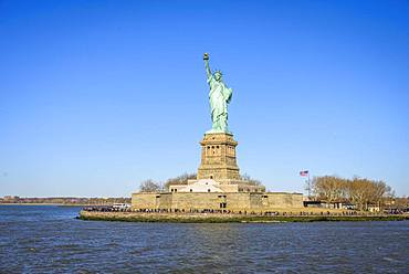 Statue of Liberty, Lady Liberty, Liberty Island, Statue of Liberty National Monument, New York City, New York, USA, North America