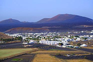 Yaiza, La Geria region, Lanzarote, Canary Islands, Spain, Europe