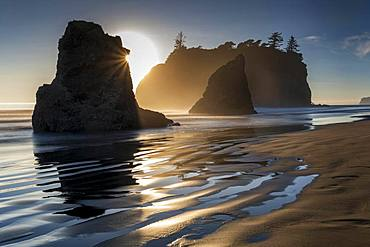 Ruby Beach, Olympic National Park, Washington, USA, North America