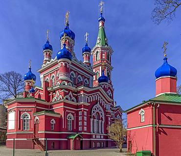 Orthodox church, Riga, Latvia, Europe