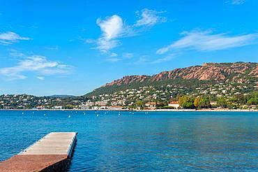 Coastal landscape, Agay, Var, Provence-Alpes-Cote d'Azur, France, Europe