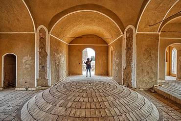 Shafiabad caravanserai, Interior, Kerman Province, Iran, Asia