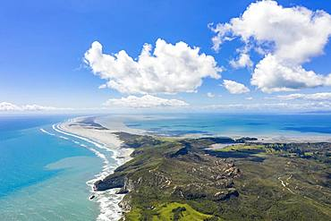 Farewell Spit, headland, Golden Bay, South Island, New Zealand, Oceania
