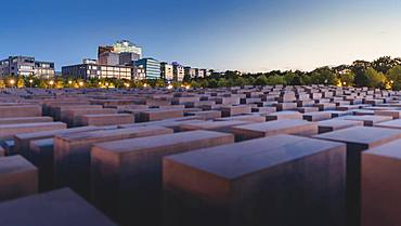 Holocaust Memorial and Potsdamer Platz, Berlin, Germany, Europe