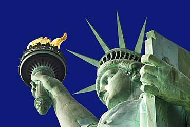 Statue of Liberty, Lady Liberty, Liberty Island, Manhattan, New York City, USA, North America