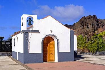 Church Ermita San Salvador in Taguluche, La Gomera, Canary Islands, Spain, Europe