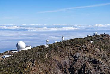 Observatories, Observatory on the Roque de los Muchachos, Gran Telescopio Canarias, La Palma, Canary Islands, Canary Islands, Spain, Europe